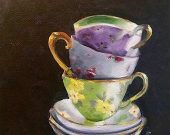 My Mother's Tea Cups
