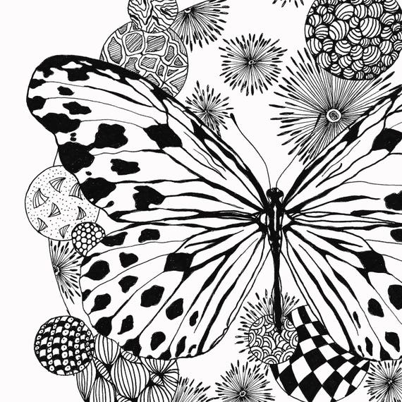Tolle Schmetterling Färbung Seite Ideen - Dokumentationsvorlage ...