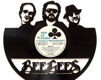 The Bee Gee's - Vinyl Record Art