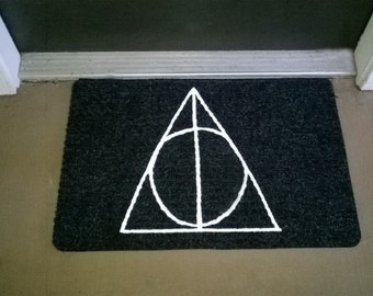 Deathly Hallows Welcome Mat