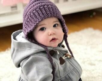 Baby Ro Bonnet - Vintage Inspired Pixie Baby Bonnet - Custom Made - Handmade