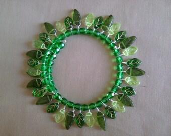 Spring Leaves Bracelet