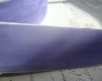 2 inch wide  Violet Velvet Ribbon