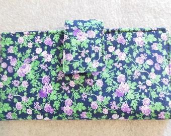 Fabric Wallet - Lavender Floral