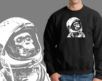 Astronaut Chip Sweater Sweatshirt Funny NASA SPACE Sweatshirt gift Christmas