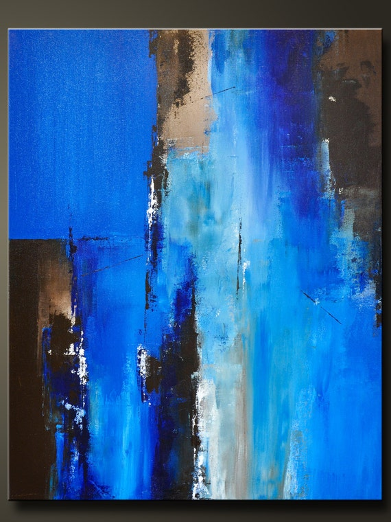Passage 2 30 x 24 Abstract Acrylic Painting on