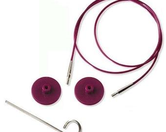 KNITPRO Interchangeable Needle Cable length 40 cm - 150 cm