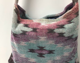 Fresco Towels - Mesa Diamonds Taupe - Messenger Bag