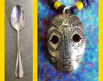 AFRICA spoon necklace