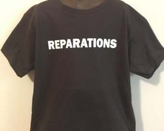 Youth Reparations Crewneck T-shirt