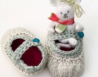 Heirloom Booties Knitting Pattern ***Digital Download***