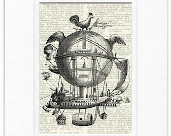 Flying Scientarium print