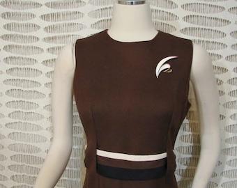 Dress - Alison Ayres Original - Circa 1960's - CLASSIC