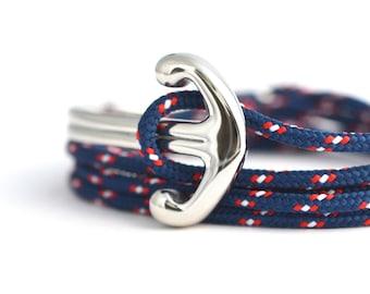 KOMIMAR anchor BEACH - surfer - anchor bracelet - bracelet Bangle gift idea