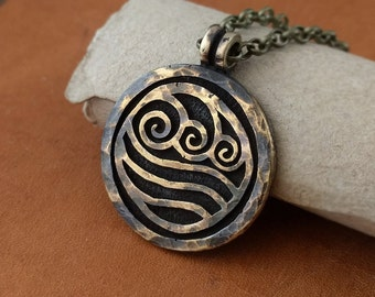 Avatar Last Airbender Water Tribe Nation Necklace Pendant