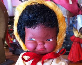 Vintage poupée de Native American Eskimo fabriquée au Canada