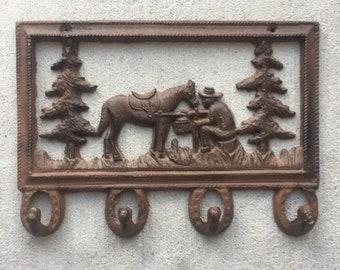 Cast iron western hooks