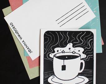 My Cup of Tea Postcard