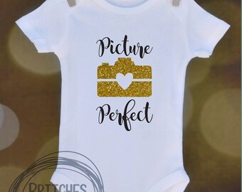 Picture Perfect // Baby Apparel, Toddler Shirts, Trendy Baby Clothes, Cute Baby Clothes, Baby and Toddler Clothes