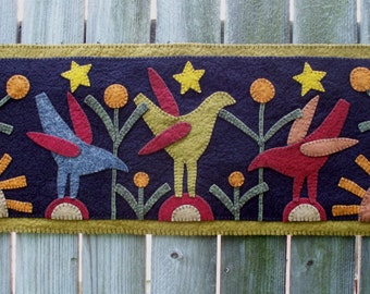 Under the Stars Penny Rug