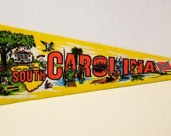 South Carolina - Vintage Pennant
