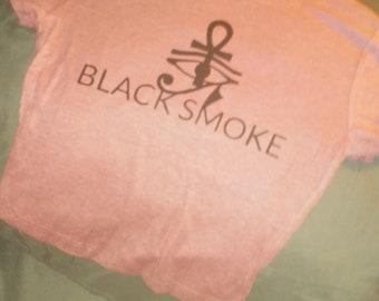 BLACKSMOKECOLLECTION Pink Crop Top!