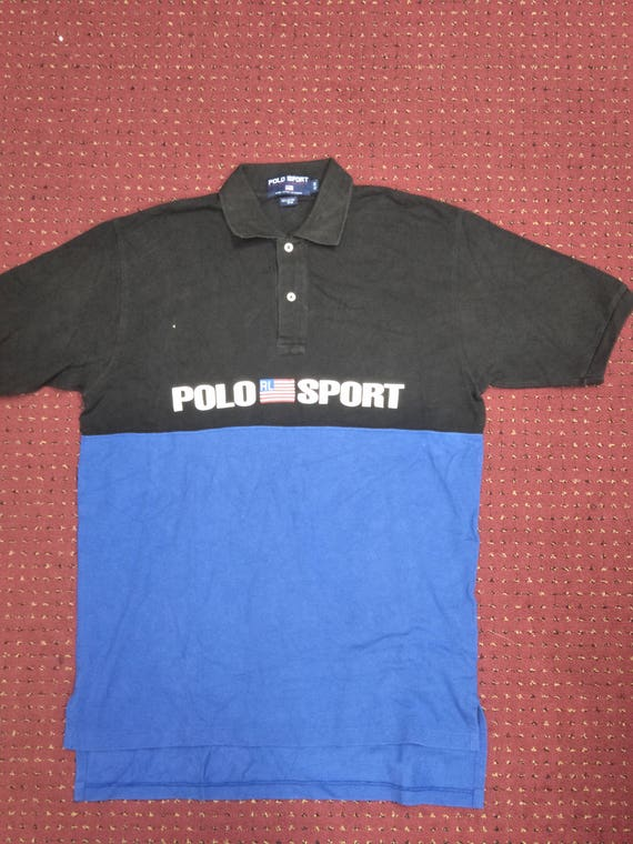 RARE!! Polo Sport by Ralph Lauren spell out big logo streetwear oaiYpG7