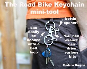The Road Bike Keychain Mini-tool