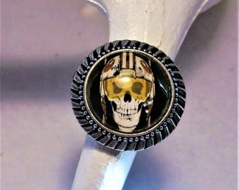 Star wars X-wing pilot skull ring