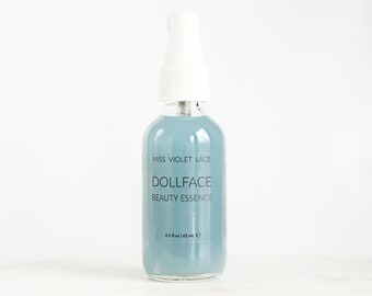 Fresh body mist, hair mist, 100% natural and vegan --- Dollface