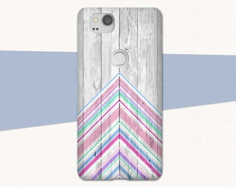 Pretty Google Pixel 2 Case, Chevrons, Gift for Her, Pink Google Pixel Phone Case for Google Pixel 2, Google Pixel 2XL, Pixel XL2, Pixel XL 2
