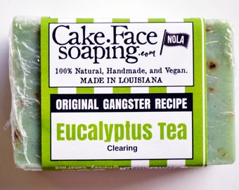 Eucalyptus and Tea tree natural soap gift soap green soap natural vegan soap bar fresh soap natural soap handmade soap for bridal