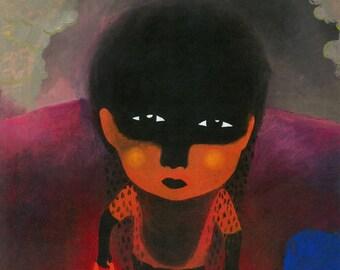 The Darkness / Artprint / Illustration / Hallimash