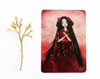 Kumiko - Postcard