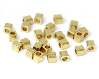 250 Copper Seed Square Beads (1S-80)