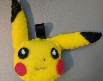 Pikachu Felt Keychain