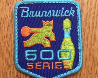 Vintage Bowling Patch (500 series)