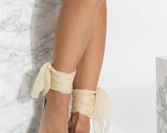 Bridal sandals, Wedding flats, Silver leather flat shoes, Beach wedding,  Dido design NEW