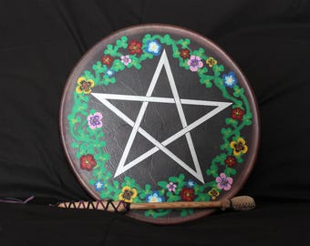 Purple Star Drum