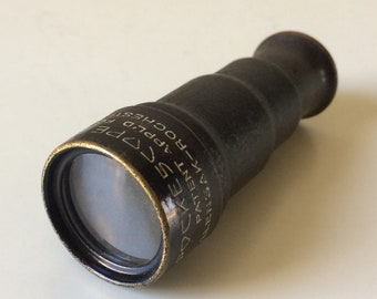 Wollensak Pockescope Sr./Wollensak Optical Co.,Rochester/Brass Pocket Telescope/Collectible Telescope/Vintage Optical Instruments/Telescopes