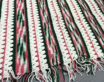 Lap Robe / Multicolor Afghan