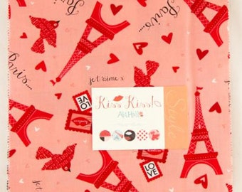 Kiss Kiss, Layer Cake, Moda Fabric, Abi Hall