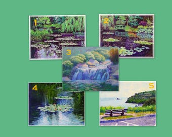 Sympathy Cards from Original Oil Paintings