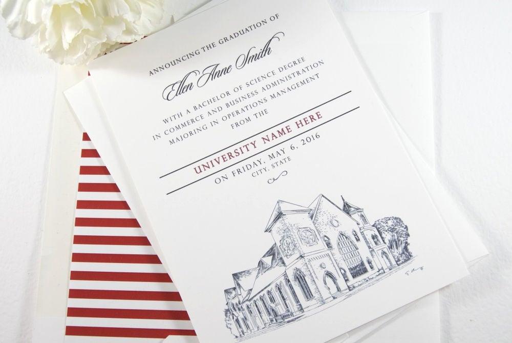 Gonzaga university graduation announcement graduation cards zoom stopboris Image collections