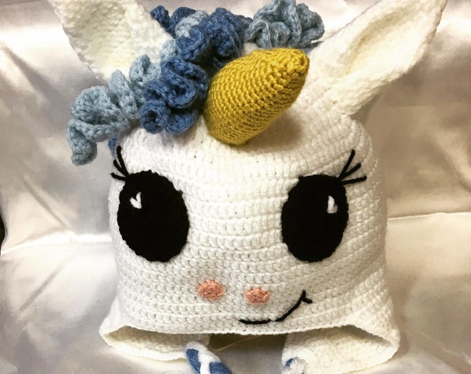 Mixed Unicorn Beanie