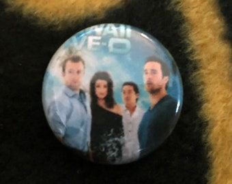 Hawaii Five 0 Pinback Buttons 1'