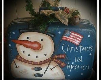 Kay's Primitive Designs Christmas in American Painting Pattern Packet
