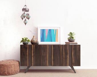Miami Abstract - Art Print