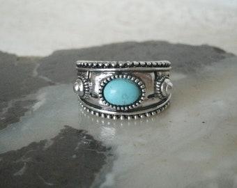 Turquoise Ring southwestern jewelry southwest jewelry turquoise jewelry native american jewelry style country western boho ring bohemian
