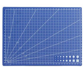 A4 size blue cutting mat